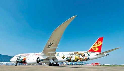 波音787加入中国五周年:还会实现更多的